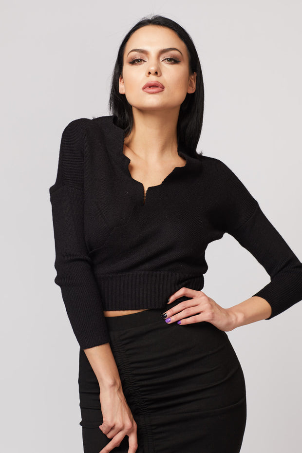 Knitted Crop Top - Berness
