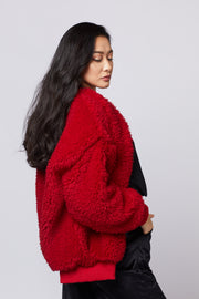 Bomber Faux Fur Jacket - Berness