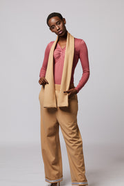 Wide Leg Trousers and scarf set - Berness