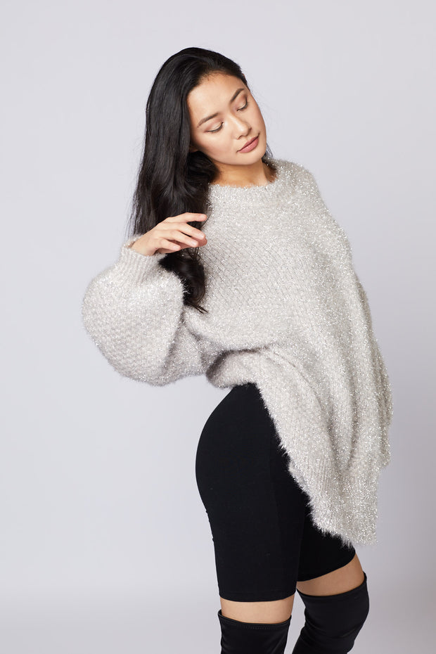 Long Tinsel Sweater - Berness