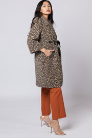 Leopard Print Cozy Coat - Berness