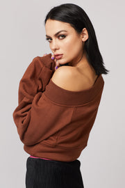 Wide Neck Sweater - Berness