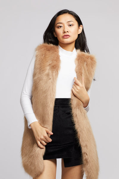 Faux Fur Vest - Berness