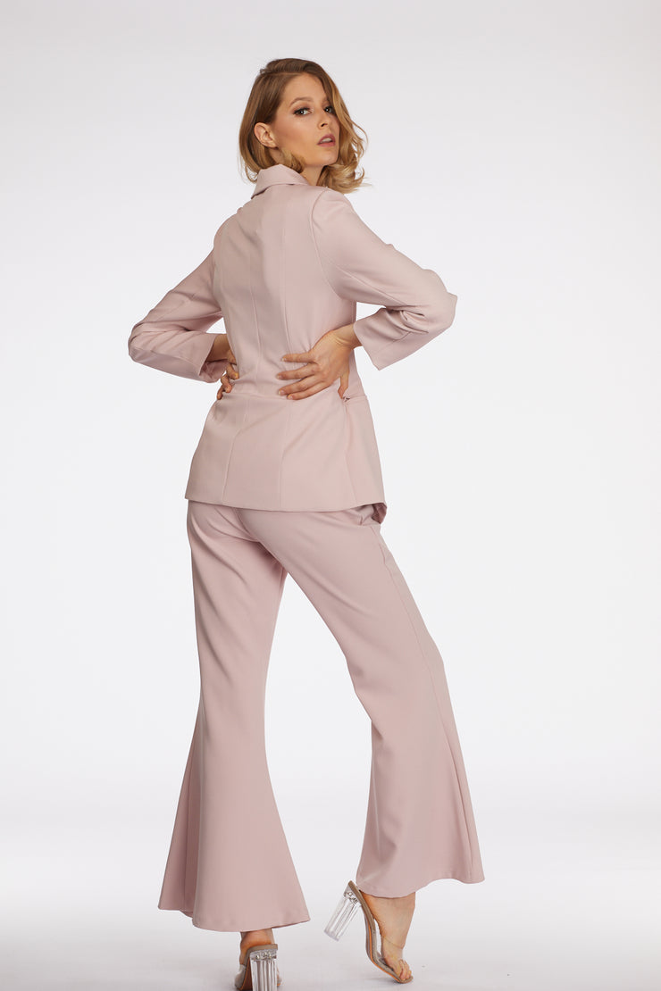 Power Suit Wide Leg Pants - Berness