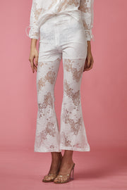 White Lace Two Piece Set - Berness