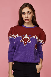 Fairisle Puff Sleeve Jumper - Berness