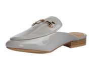 Grey Vinyl Loafers - Berness