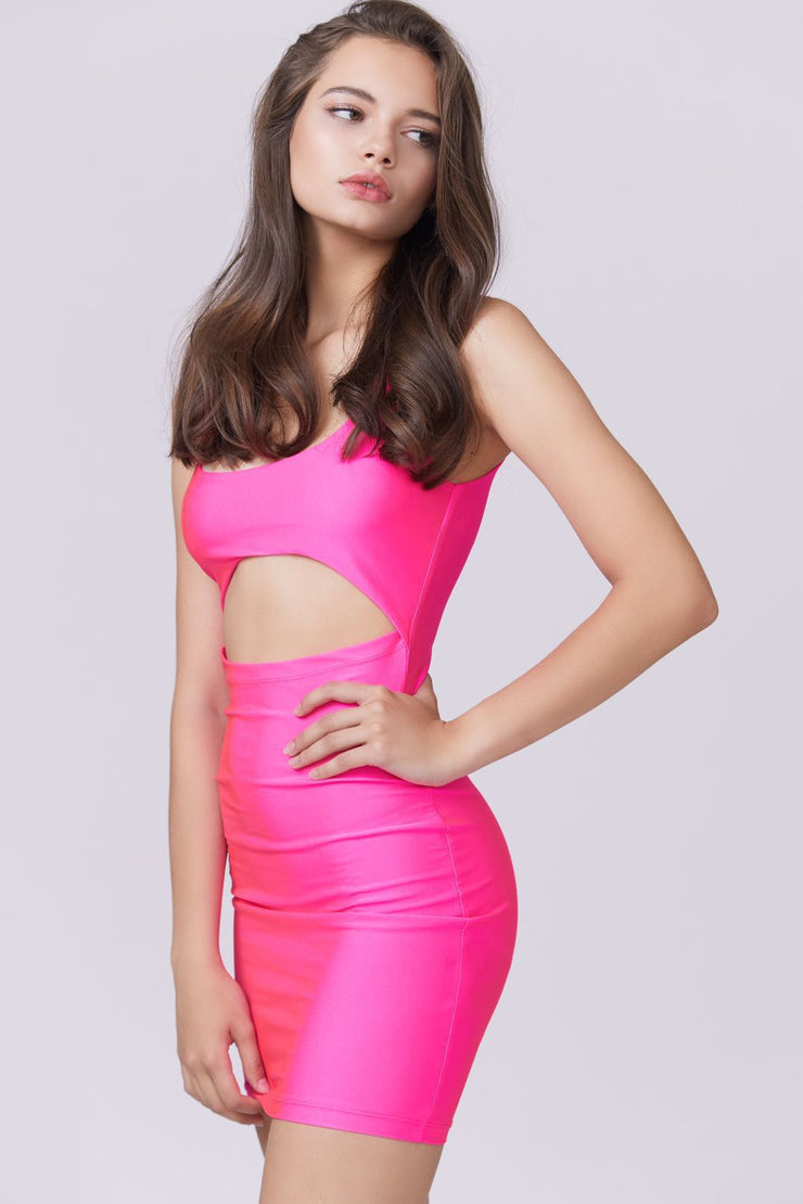 Cut Out Detail Dress - Berness