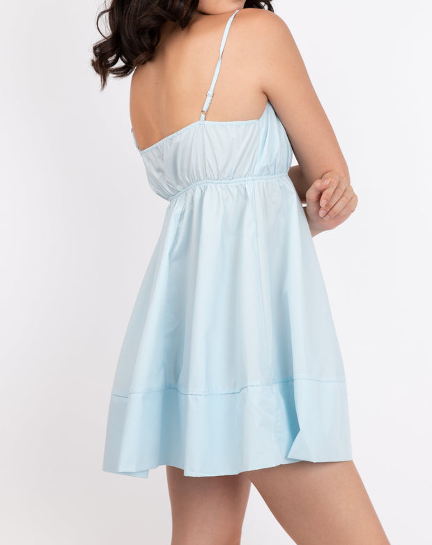 Zip Back Cami Dress
