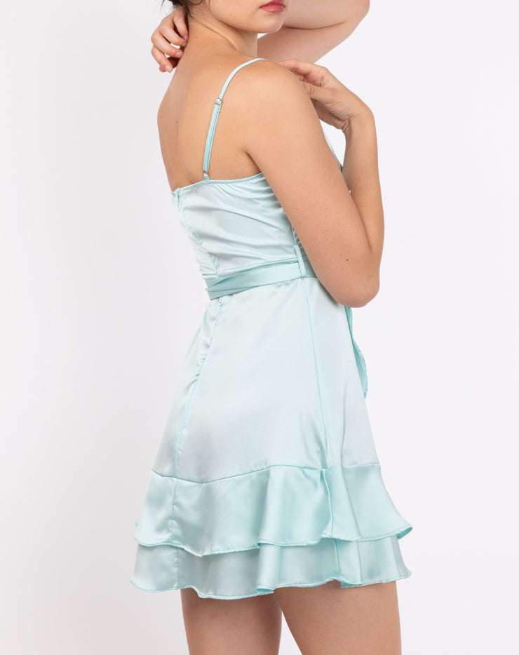 Ruffle Tulip Hem Cami Dress - Berness