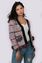 Tweed Knit Cardigan - Berness