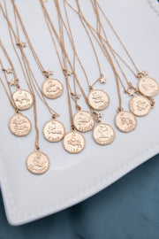 Zodiac Coin Necklace - Berness