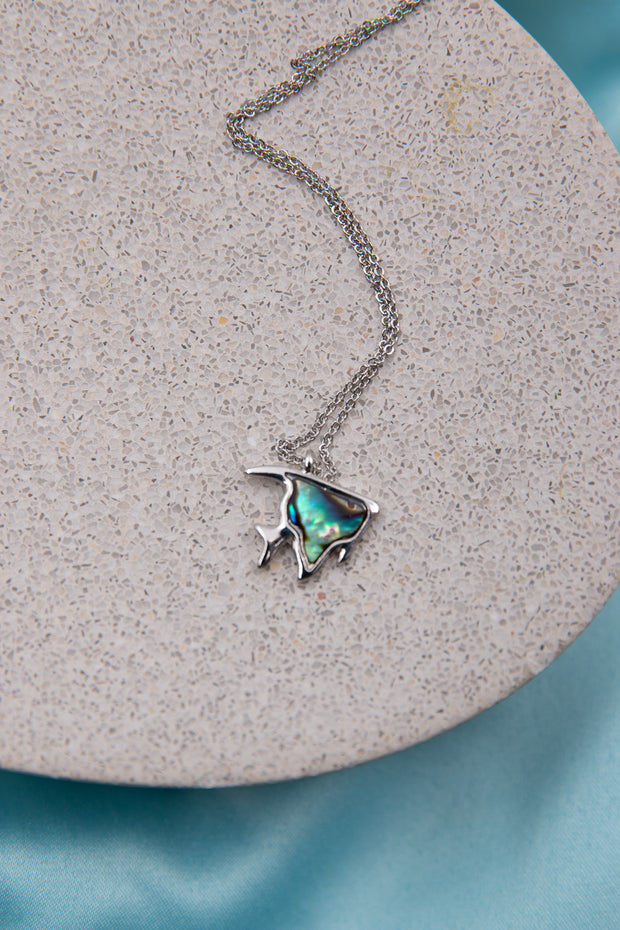 Sea Fish Abalone Necklace - Berness