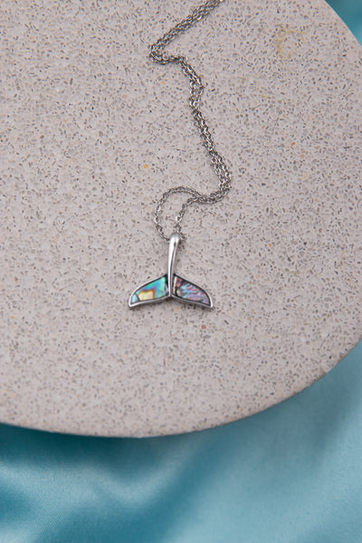 Dolphin Tale Abalone Necklace - Berness