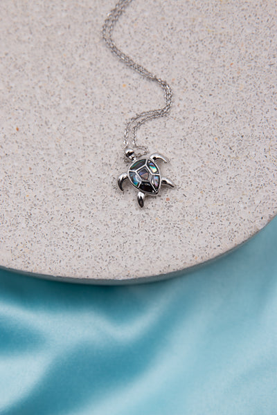 Turtle Abalone Necklace - Berness