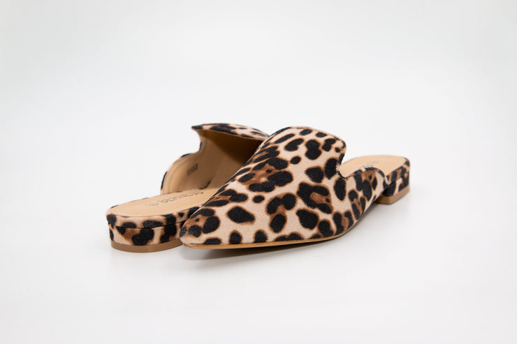 Leopard Print Loafers - Berness