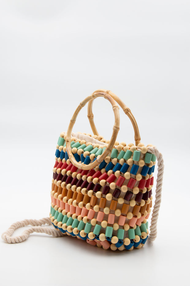 Multicolored Beads Bag - Berness