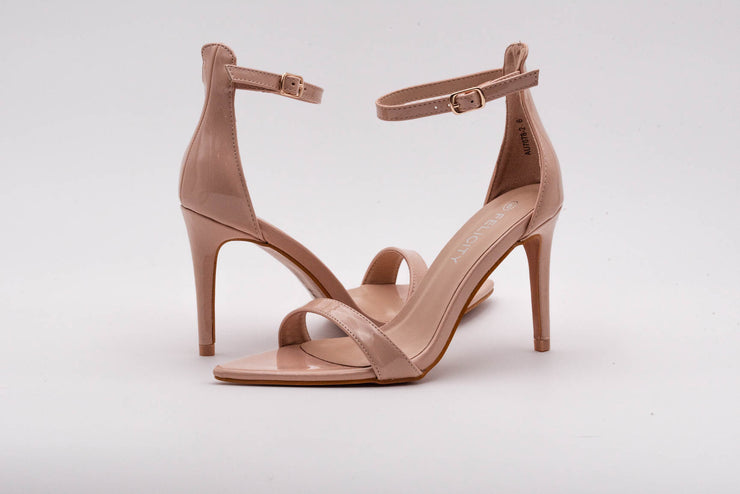 Nude Sleek Stiletto Heel - Berness