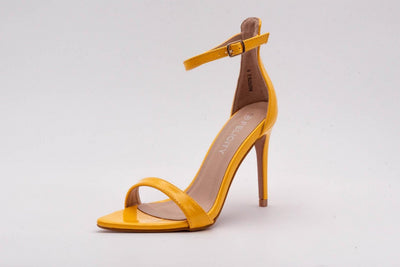 Yellow Sleek Stiletto Heel