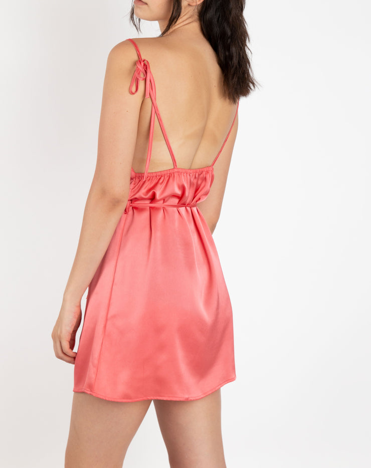 Silk Slip Dress - Berness
