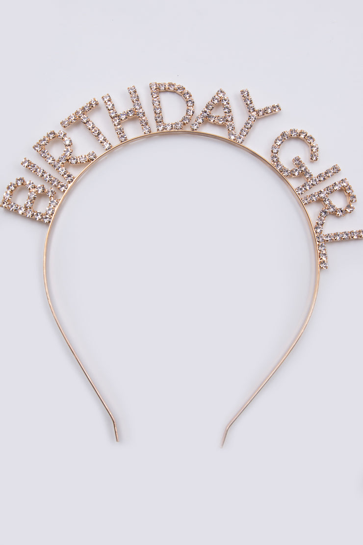 Birthday Girl Metal Headband - Berness