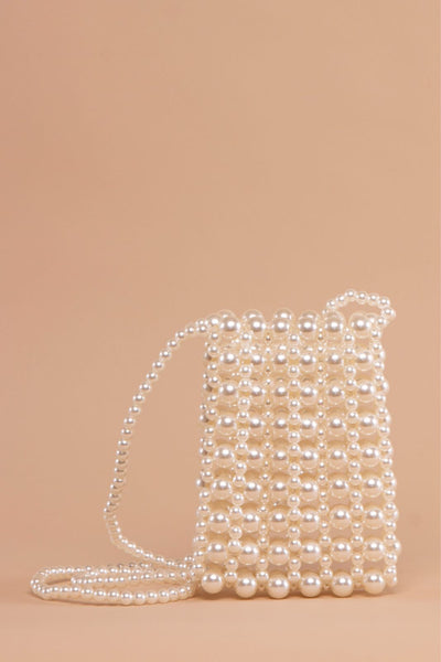 Mini Crossbody Pearl Bag - Berness