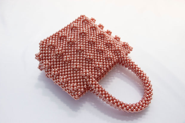 Pink Fancy Pearl Bag - Berness