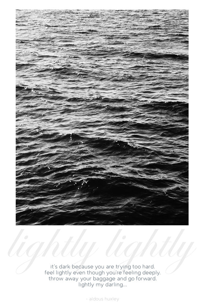 Card: Ocean - Lightly My Darling - Huxley (set of 5)