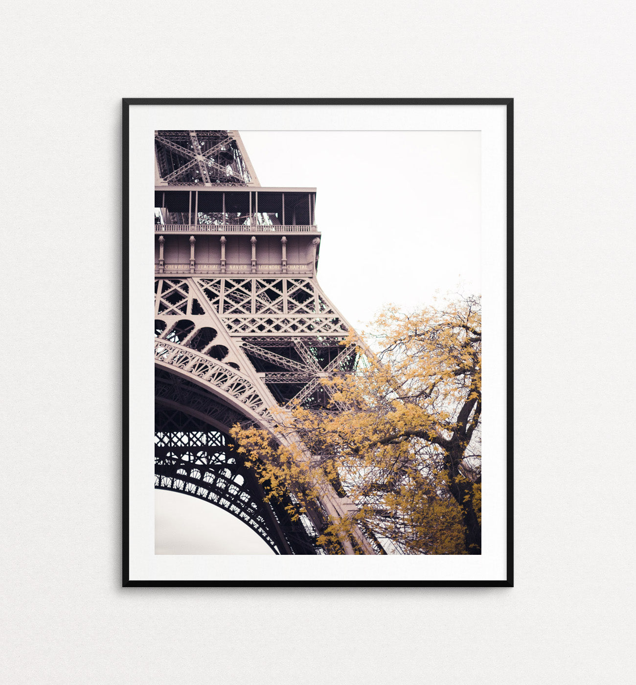 Eiffel Detail in Autumn