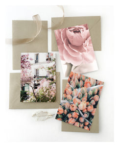 Notecards: Floral (bundle of 3)