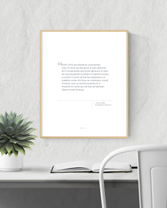 Printable Quote - Amor Towles