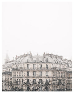 Snowfall in Paris II