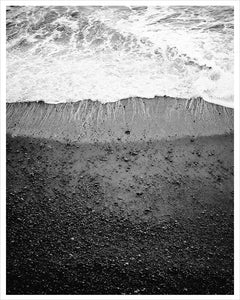 Ocean Fine Art Photograph in Black and White