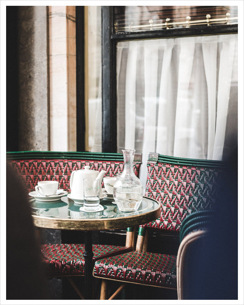 Cafe de Flore Paris - Invitation