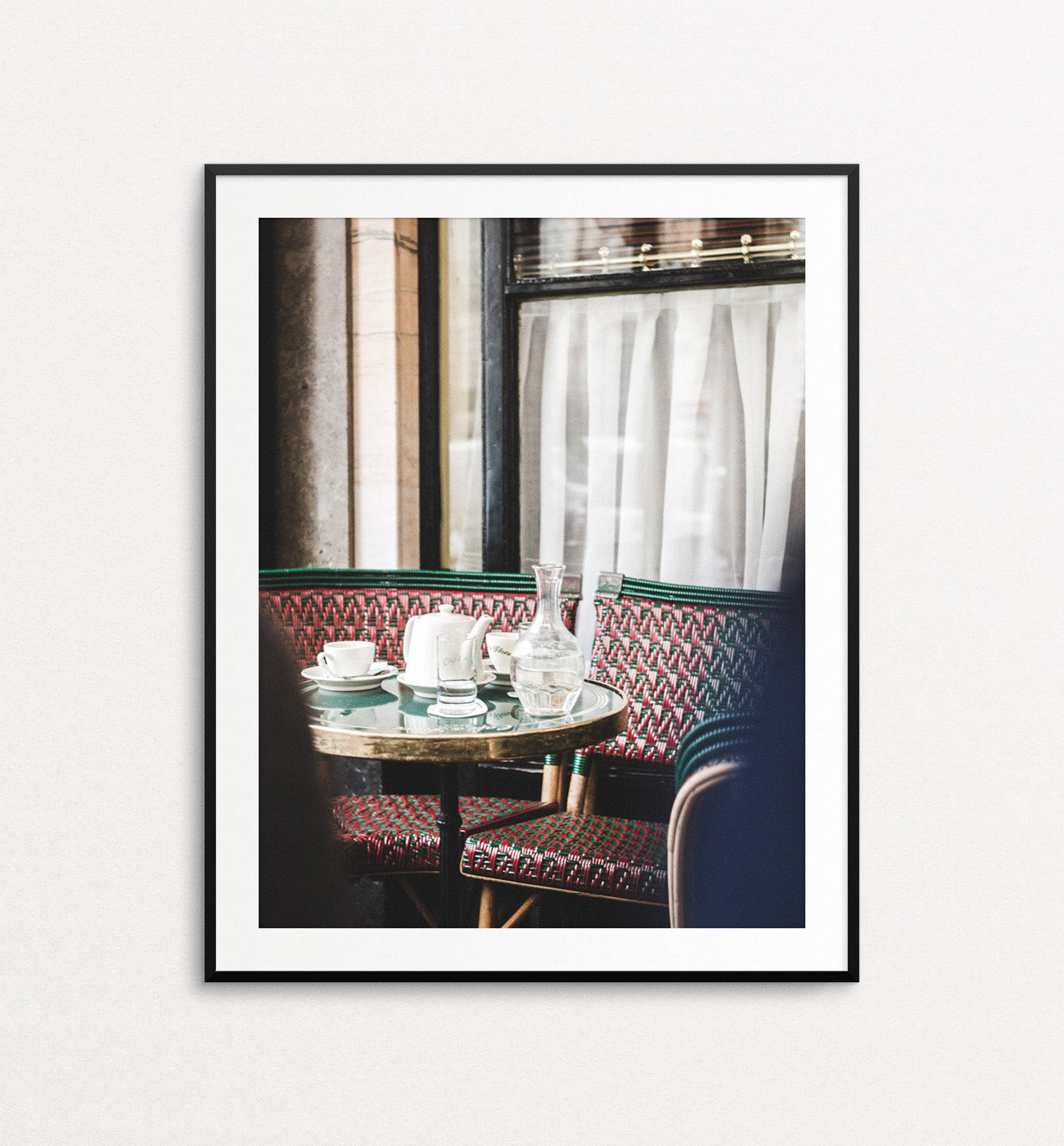Invitation to Cafe de Flore