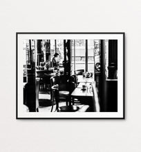 Load image into Gallery viewer, Girl in a Cafe, Paris