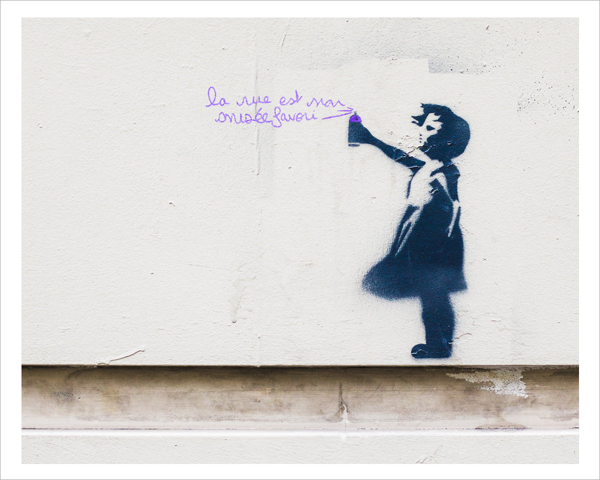 Paris Street Art, La Rue