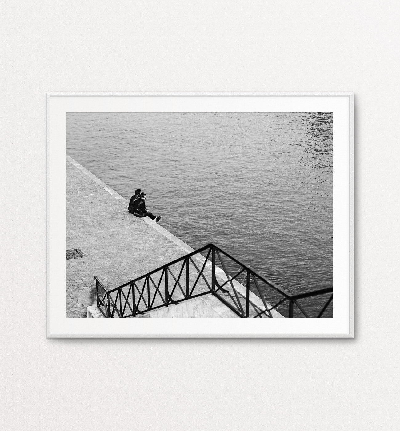 Lovers on the Seine