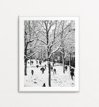 Load image into Gallery viewer, Parisian Playground Under the Snow