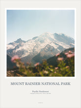 Load image into Gallery viewer, Art Print Poster: Mount Rainier