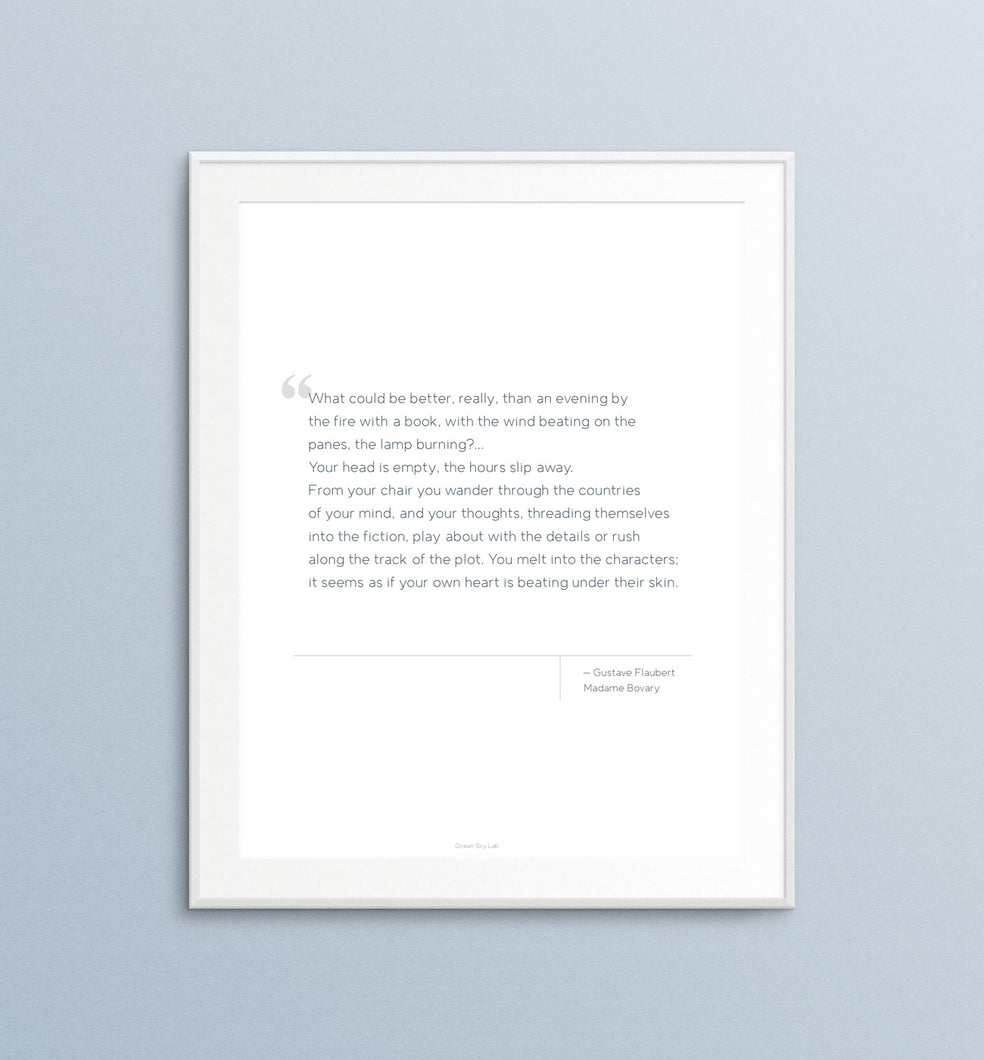 Printable Quote - Gustave Flaubert