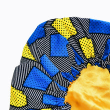 Charger l'image dans la galerie, Makafui Kollection Bonnet hydrat'nuit Blue Bird