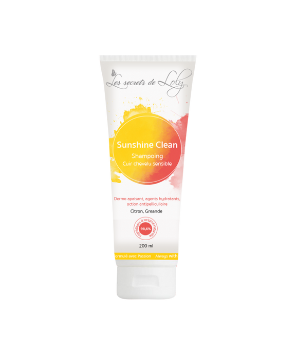 LES SECRETS DE LOLY  Shampooing SunShine Clean 200ml