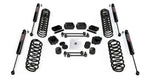 "JL 2-Door: 2.5"" Coil Spring Base Lift Kit & 9550 VSS Twin-Tube Shocks"