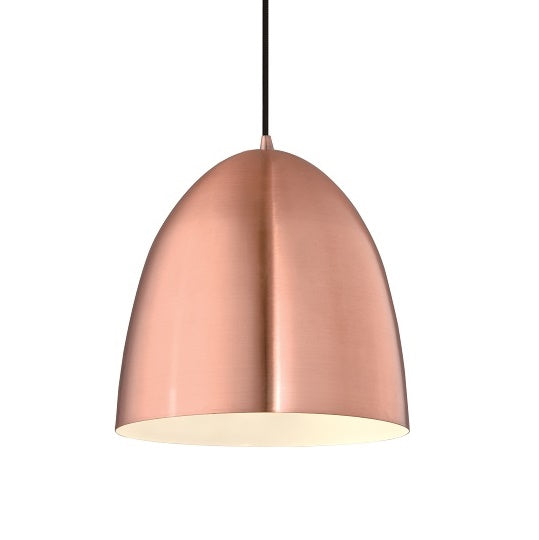 Sofia 300mm Copper Dome Industrial Pendant