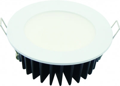FLAT 10w Flush 5000k LED Downlight White