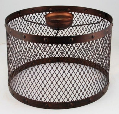 Rustic Drum Cage Large Batten Fix
