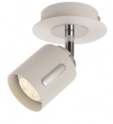 Burton 1 Light LED Spotlight White