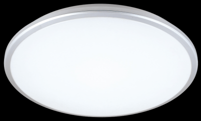 Tora 18w Round LED Oyster Silver