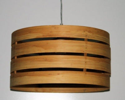 DIY-1412 Natural Bamboo Medium Sized Drum Batten Fix Shade